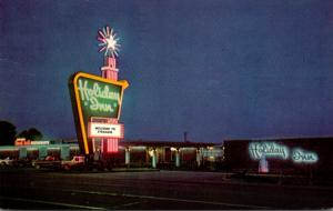 New York Syracuse Holiday Inn Carrier Circle 1972