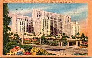 California Los Angeles County General Hospital 1944