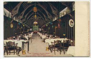 Famous Dutch Room Pipe Organ New National Hotel Minneapolis MN 1908 postcard