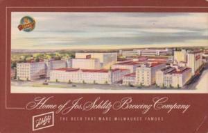 Josef Schlitz Brewing Company Milwaukee Wisconsin