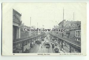 ft1367 - USA - New York - The Bowery - postcard