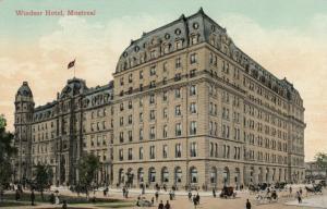 MONTREAL, Quebec, Canada ; Windsor Hotel , 1909
