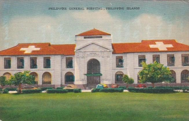 Philippines Islands The Philippine General Hospital