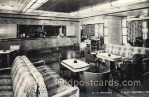 P.&O. Himalaya, First class verandah caf? Ship Ships, Interiors, Postcard Pos...