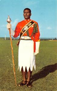 Fiji Drum Major, Sgt Epeli Rayawa, Fiji Military Forces  Sgt Epeli Rayawa, Fi...