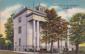 Virginia Richmond White House Of The Confederacy