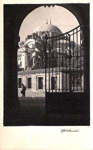 Soleymanije Mosque Istanbul Turkey 1953