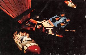 Space Mountain tomorrowland Disneyland, CA, USA Disney Unused