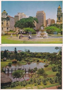 Durban Japanese Medwood Gardens 2x South Africa Postcard