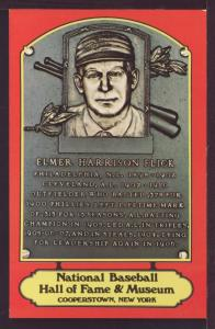 Elmer Harrison Flick Baseball Hall Fame Post Card 3273