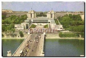 Modern Postcard Paris Palais De Chaillot