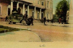 PC CPA SYRIA, DAMAS, SÉRAIL DU PARLEMENT SYRIEN, Vintage Postcard (b16561)