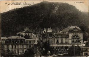 CPA La BOURBOULE - Le Casino Pont Rue du Chateau et le Funiculaire (244503)