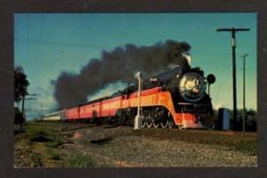CA Southern Pacific Railroad Train CORNING CALIFORNIA