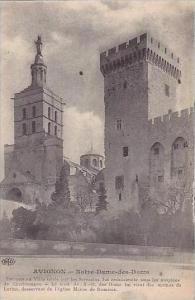 France Avignon Notre-Dame des Doms