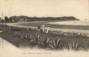 CPA Vietnam Indochine TONKIN Doson - La Pointe (62591)