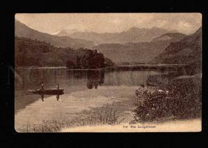 038622 GERMANY Am Lungernsee  Vintage PC