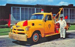 Delaware Bridge Chevrolet Tow Truck Always Ready Postcard
