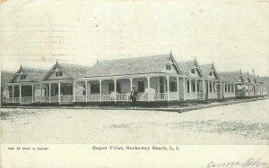 Dashby 1907 Eagan Villas Rockaway Beach New York Postcard Stern 11408