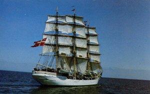 The Danmark 3-Masted Danish Gov't Merchant Marine Training Ship