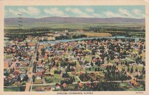 FAIRBANKS , Alaska, 30-40s ; Airview