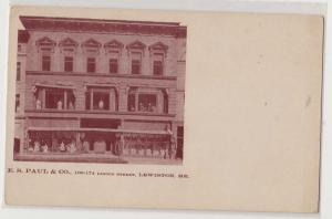 E. S. Paul & Co, Lewiston ME