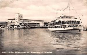 BF37260 friedrichshafen hafen bahnhof mit ravensburg  schwaben Boat Ship Bateaux