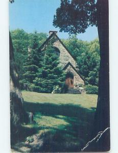 Pre-1980 CHURCH SCENE Adirondacks - Silver Bay - Lake George New York NY A9233