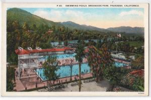 Swimming Pools, Brookside Park, Pasadena CA