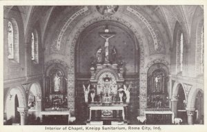 ROME CITY , Indiana , 1900-10s ;  Interior of Chapel , Kneipp Sanitarium