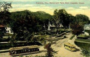 Monument Park in Augusta, Maine