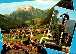 Austria Mayrhofen Zillertal Blick Zum Gruenberg