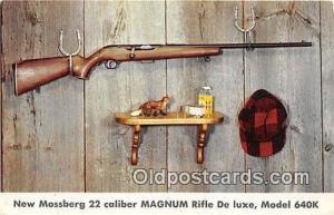 Model 640k, New Haven, Conn, USA Postcard Post Card New Mossberg 22 Caliber ...