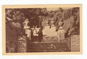 Reval,  Estonia, (now called Tallinn), Man on park steps, view Nr. 12  00-10s