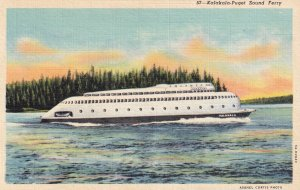 1930-1940's; Kalakala Puget Sound Ferry