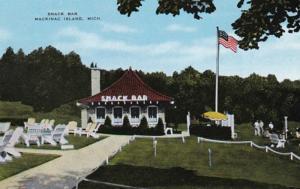 Michigan Mackinac Island Snack Bar