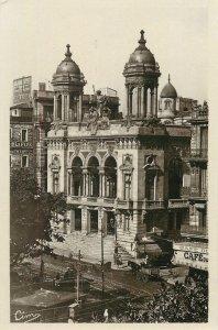 Algeria Postcard Oran Theatre Municipal