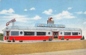 Milwaukee Wisconsin Port Silver Diner Charcoal Grill Vintage Postcard JI658309