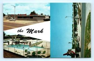 Postcard OK Weatherford Mark Motor Hotel & Restaurant Route 66 Multiview R72