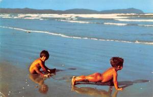 Venezuela Old Vintage Antique Post Card Miranda State, Higuerote Beach Unused