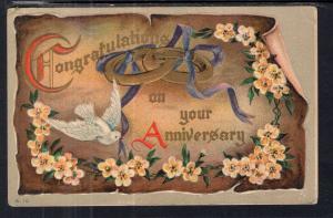 Anniversary Dove Flowers BIN