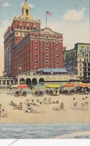 New Jersey Atlantic City Hotel Shelburne 1957 Curteich
