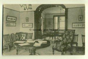tp6460 - Church Memorial House Interior , Kirkham , Lancashire - postcard