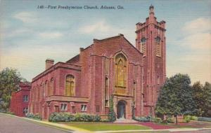 Georgia Atlanta The First Presbyterian Church Curteich