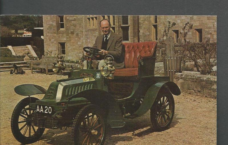 1903 De Dion Bouton Post Card Montagu Motor Museum
