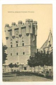 Segovia: (Alcazar) Fachada Principal, Spain, 00-10s