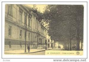 Palais de Justice, Cahrleroi, Belgium, 00-10s