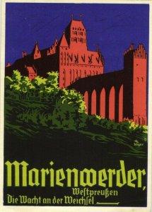 Marienwerder, Die Wacht an der Weichsel Propaganda WK II 1940s AK, Kwidzyn Polen