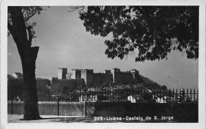 Portugal Lisboa Castelo de S. Jorge Castle General view Chateau