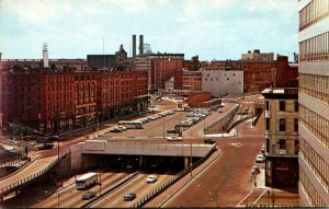 Massachusetts Boston Southeast Expressway Underpass At South Station